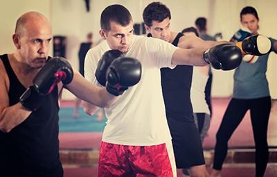 Kick Boxing στο Γυμναστήριο