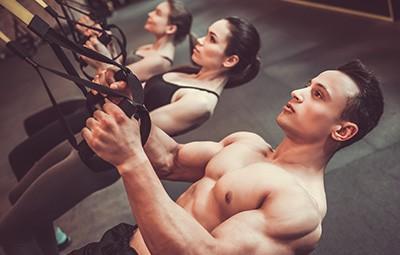TRX στο Γυμναστήριο